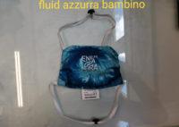 Mascherina EP PA 2020 - Energiapura Pure Air - Trinacria - Fluid Azzurra Bambino